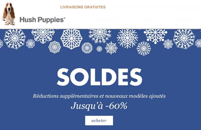 Soldes Hush Puppies