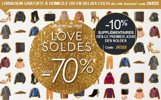 Soldes La Redoute Hiver 2015