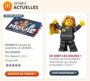Soldes Lego Shop