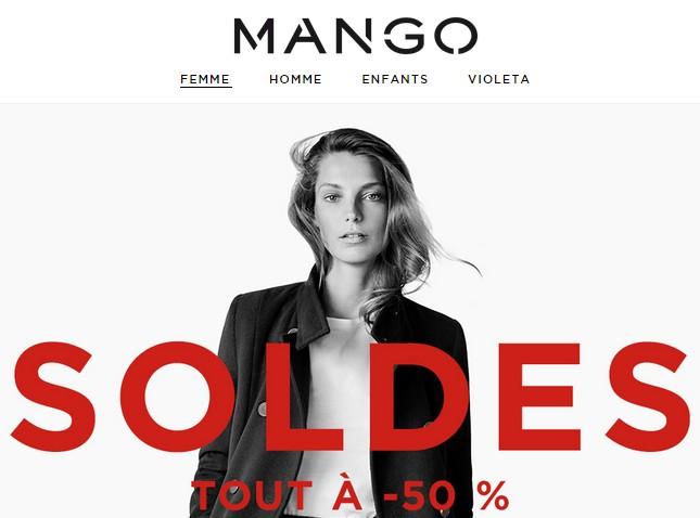 Soldes Mango tout à moitié prix