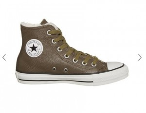 baskets Converse cuir Chuck Taylor All Star hi à 42,5 euros