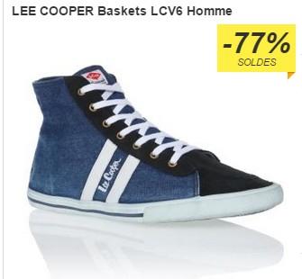baskets Lee Cooper LCV6 bleu a 10 euros