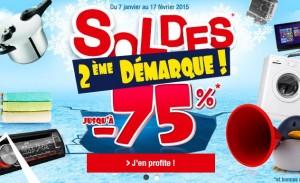 Deuxième démarque Auchan Soldes