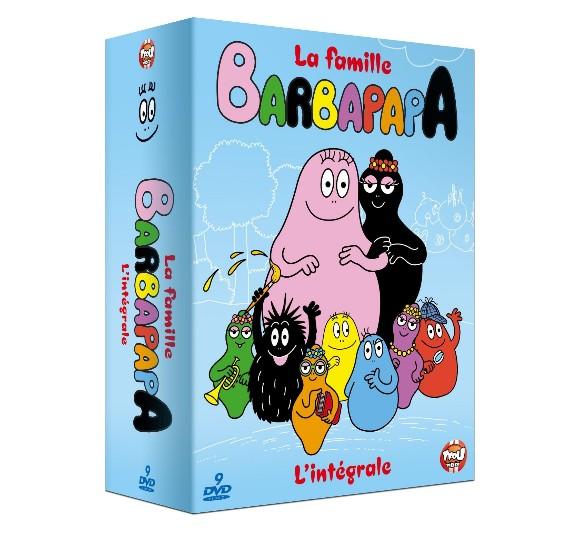 intégrale la Famille Barbapapa DVD en soldes