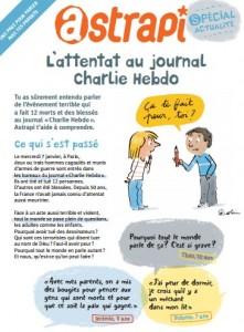livret gratuit Astrapi Attentat de Charlie Hebdo