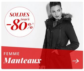 gamme de couleurs exceptionnelle Achat/Vente rencontrer Soldes manteaux et doudounes femme pas chères sur les 3 ...