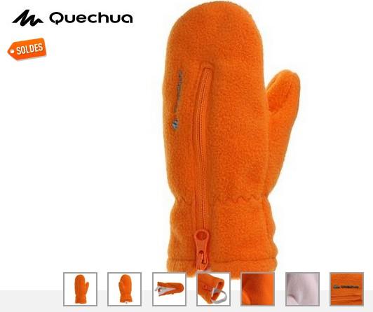 moufles Bebe Quechua soldes