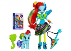 poupée Equestria My Little Pony + poney à 8 euros