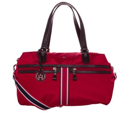sac a main rouge Tommy Hilfiger a 48 euros