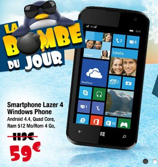 smartphone lazer windows 8