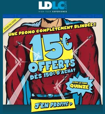 15 euros de remises