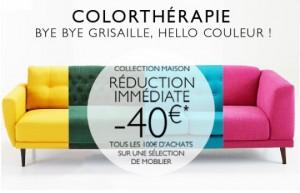 40 euros offerts sur La Redoute