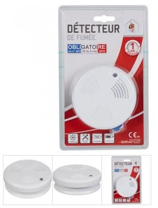 7 euros le détecteur de fumée GIFI