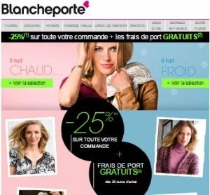 Bon d achat blanche porte 15 euros pour 1 euro - Blanche porte code reduction ...