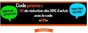 Code promo OuJamais