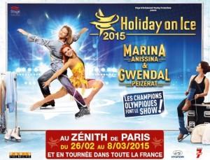 Holiday on Ice 2015 au Zenith pas chères