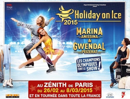 Holiday on Ice 2015 au Zenith pas chères