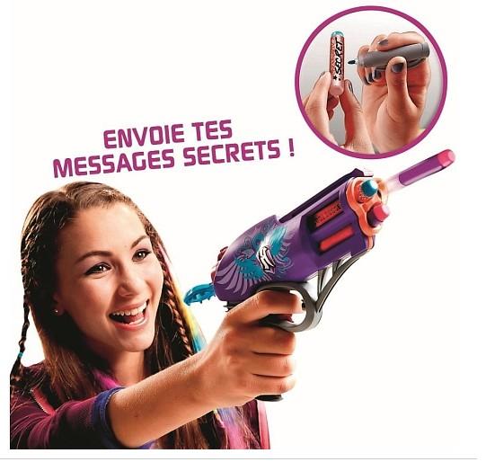 Moins de 9 euros le pistolet Agent secret Nerf Rebelle