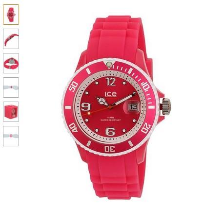 Montre Ice-Watch rose à 29 euros