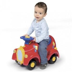 Porteur Smoby voiture de Mickey en soldes
