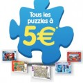 Puzzles Ravensburger et Nathan a 5 euros