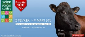 SALON INTERNATIONAL DE L'AGRICULTURE PARIS 2015