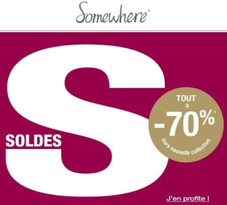 Soldes Somewhere