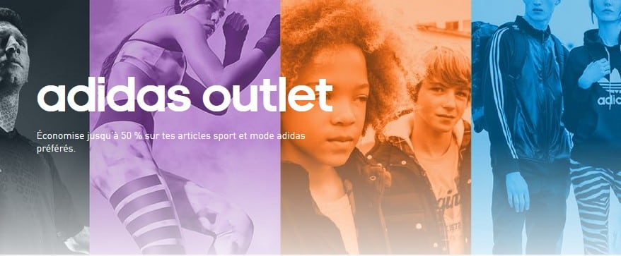 code promo Outlet Adidas