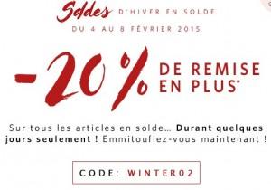 code promo soldes Esprit