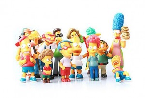 figurines The Simpsons