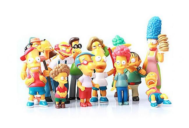 figurines The Simpsons