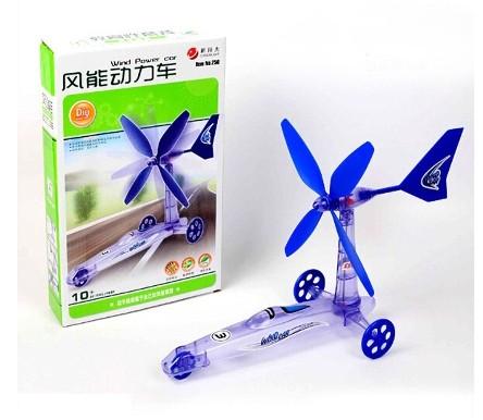 kit maquette voiture à énergie éolienne