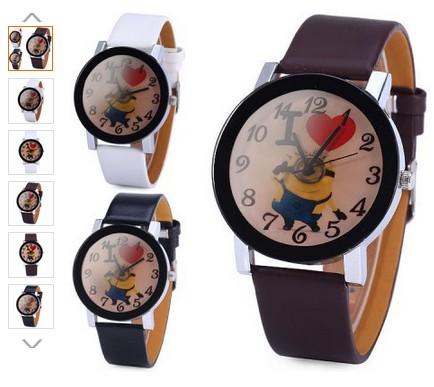 la montre Moi, Moche et Mechant a 3 euros.