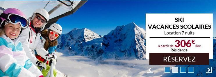 semaine de vacances au ski pendant les vacances
