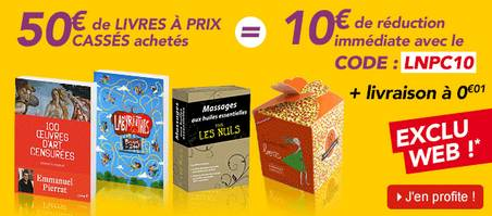 10 euros de remises immédiates
