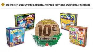 10 euros rembourses sur les jeux Goliath 2015