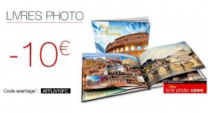 10 euros sur les livres photos FNAC.