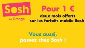 2 mois gratuit Sosh avec Groupon
