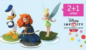 3 figurines Disney Infinity pour le prix de deux