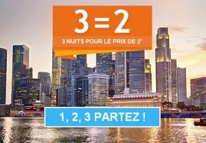 3 nuits pour le prix de 2 Accor hotel 2015