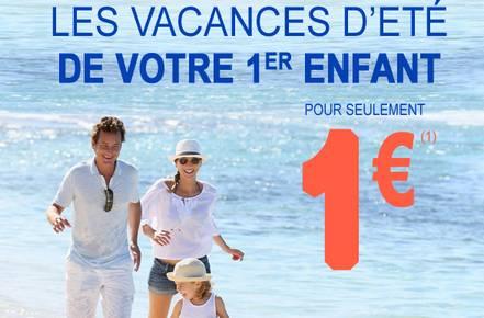 Auchan Voyages 1 euro pour les enfants