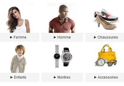 Bon plan Mode : 8 euros de remises pour 40 euros sur Priceminister