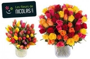Bouquet de 50 tulipes a moins de 22 euros