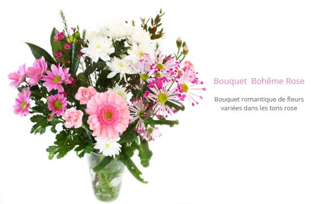 bouquets de fleurs moiti prix 12 50 euros sur 1001bouquets france enti re. Black Bedroom Furniture Sets. Home Design Ideas