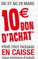 But 10 euros offerts