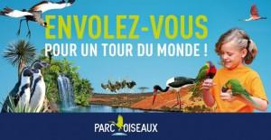 Entree gratuite au Parc des Oiseaux Villars les Dombes
