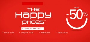 Happy Prices Okaïdi – Obaïbi