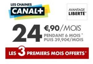 Profitez de l'abonnement 3 mois offerts Canal Plus Les Chaines