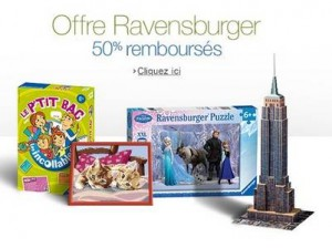 Ravensburger Nathan 50 pourcent rembourses