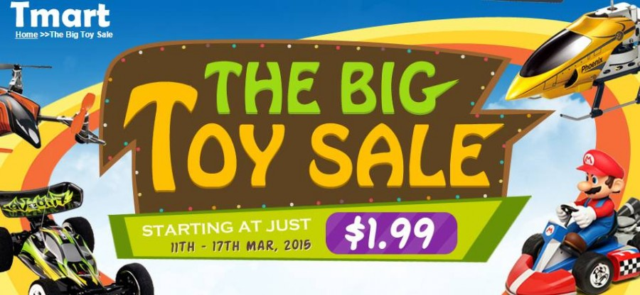 The Big Toys Sales Tmart